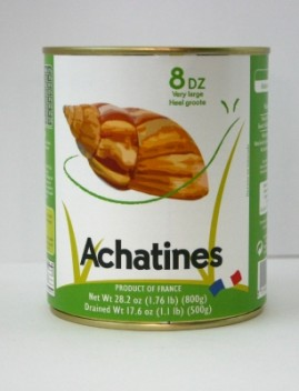 ESACH1 800g French Escargot Achetine